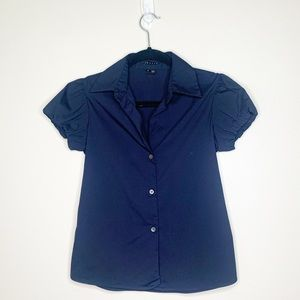 Theory Elida Button up blouse
